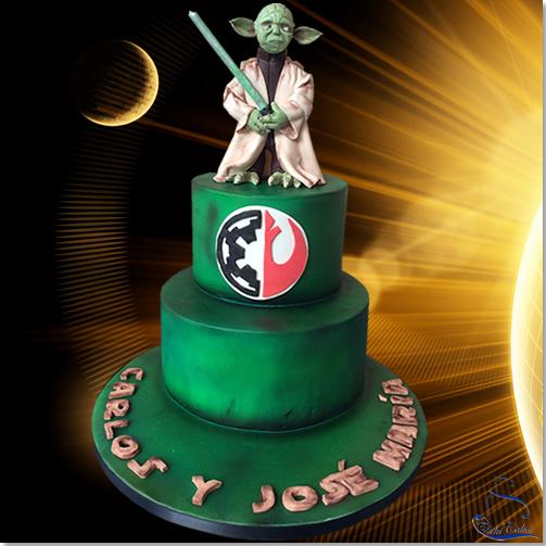 Tarta Yoda Star Wars